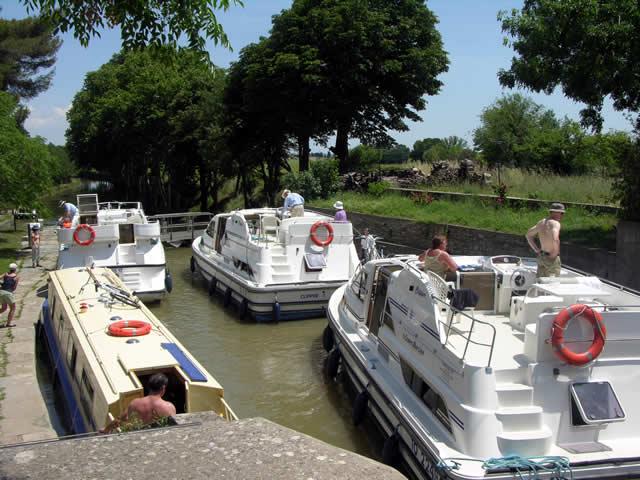 Wandelen en fietsen bij het Canal du Midi