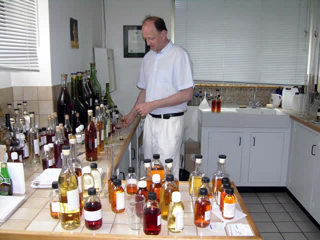 Cognac proeven bij premier
