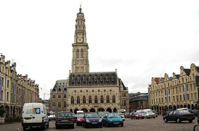Arras Belfort Place des Héros