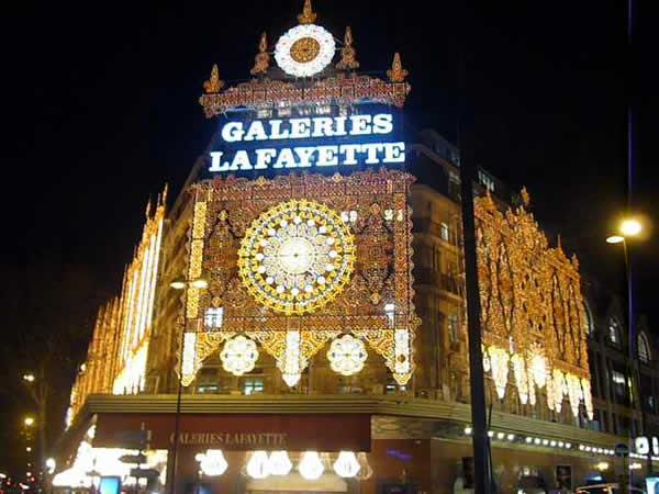 Parijs is ook gezellig winkelen