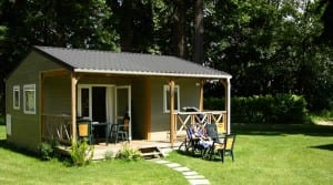 Chalet, luxe stacaravan of bungalowtent - Glamping