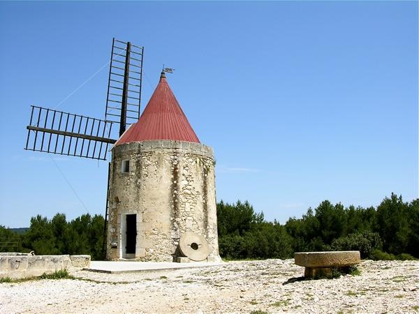 Mouilin de Daudet in Fontvieuille (Provence)