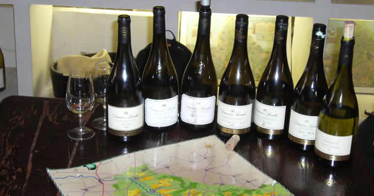 Wijnen in Chablis