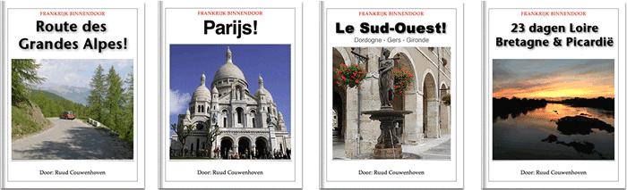 ebooks Frankrijk en Parijs