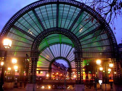 Les Halles in Parijs
