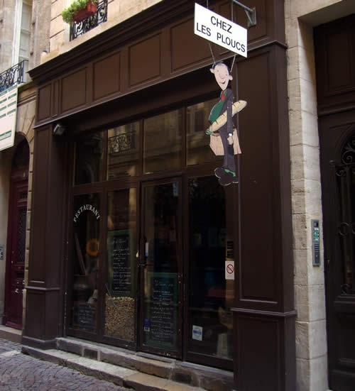 Eten in Bordeaux Chez Les Ploucs
