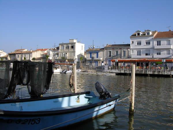 Le Grau du Roi aan de Middelandse Zee bij de Camargue