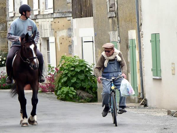 Frankrijk Binnendoor