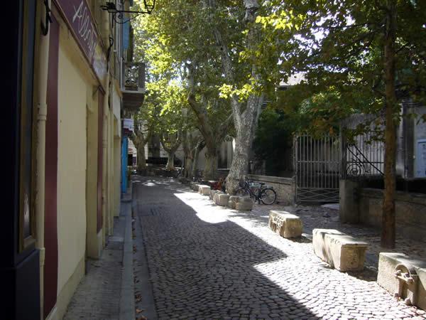 Avignon, Rue des Teintures