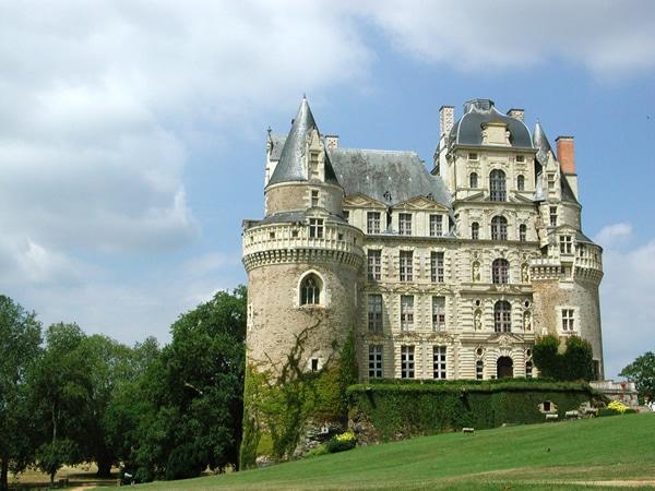 Château de Brissac-Quincé bij de Loire