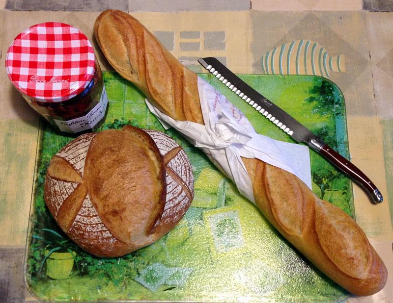 Lekker vers brood
