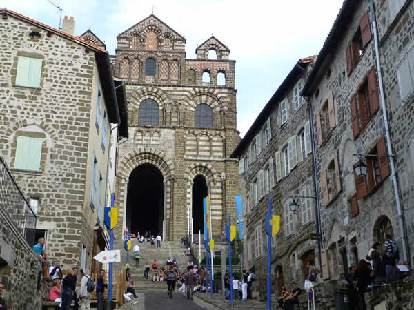 Le Puy en Velay, stad van de pelgrims