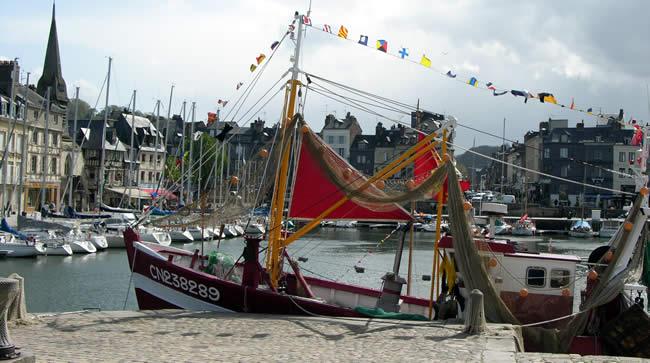 Dagje Normandie en Honfleur