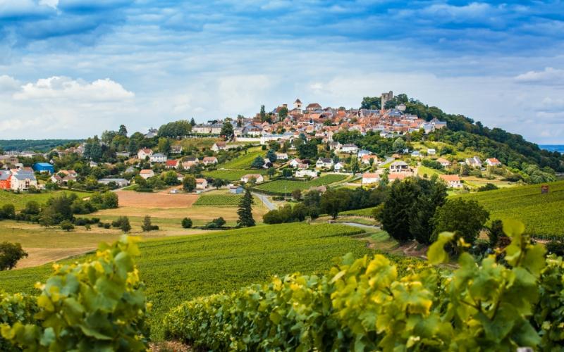 Wijndorp Sancerre bij de Loire