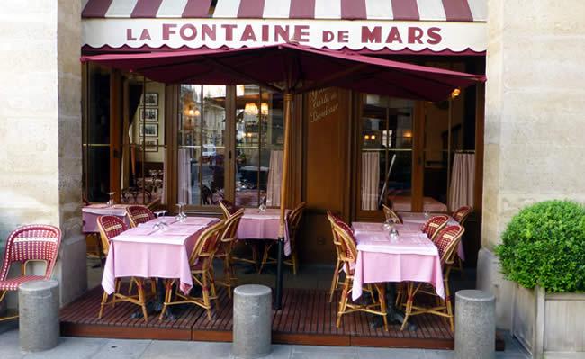 Fontaine de Mars Parijs