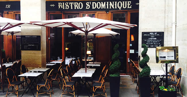 Bistro Saint Dominique Parijs