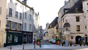 Beaune centrum