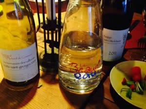 Genieten van wijn in Beaune