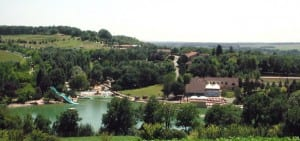 Fietsen bij Aurenque