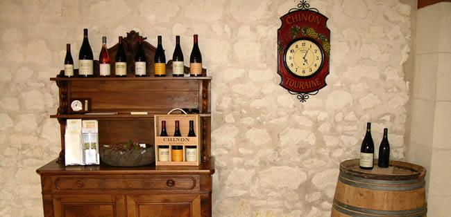 Rode wijn uit de Loirestreek