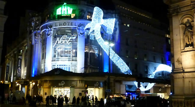 Kerst in Parijs