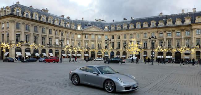 Kerst op de Place Vendôme