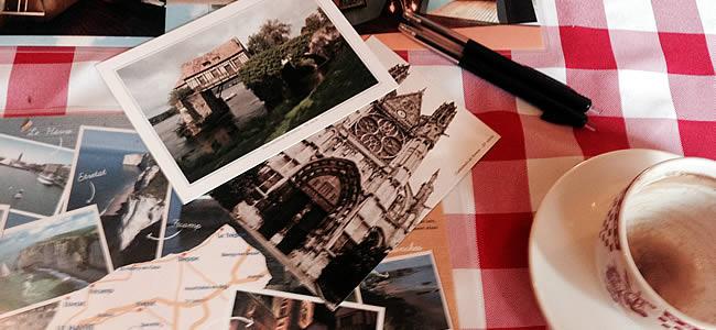 Ansichtkaarten Giverny