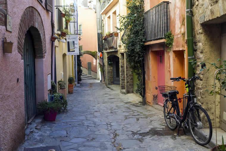 Oude straatjes en stadjes