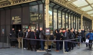 Voorkom wachtrijen aan de kassa in Parijs