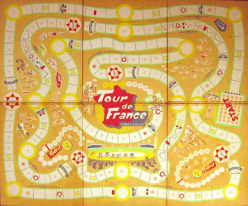 Het grote Tour de Francespel