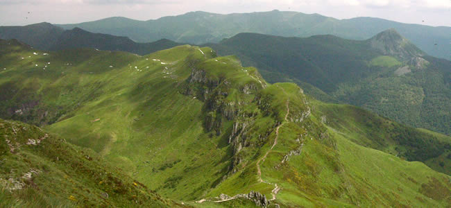 Wandelen bij de Puy Mary