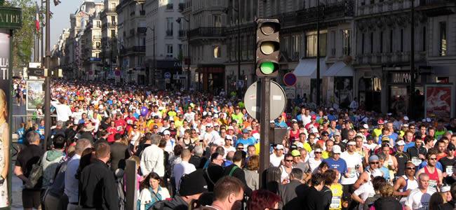 De Marathon van Parijs