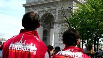 Loop de marathon van Parijs