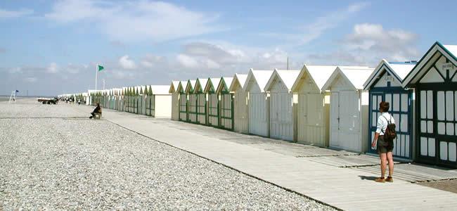 Strand bij Bayeux-sur-Mer