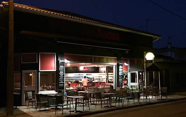 Restaurant aan het Bassin d'Arcachon