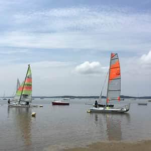 Zeilen, kanoën, zwemmen, wandelen, fietsen bij het Bassin 'd'Arcachon