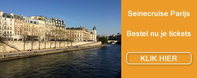 Seine cruises Parijs ook met diner