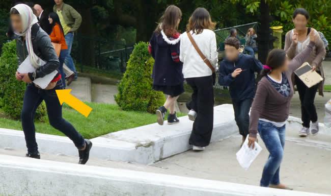 zakkenrollers in Parijs