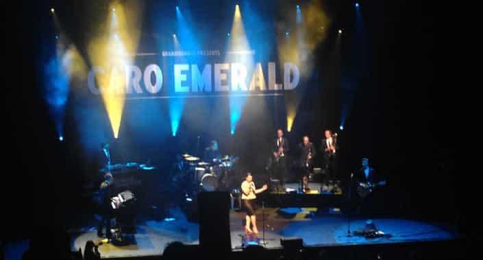 Caro Emerald in het Olympia Parijs