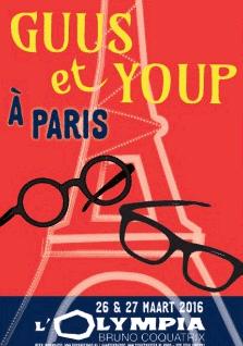 Guus Meeuwis en Youp van 't Hek in Olympia Parijs