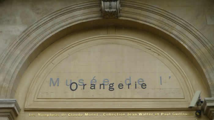 l'Orangerie in Parijs
