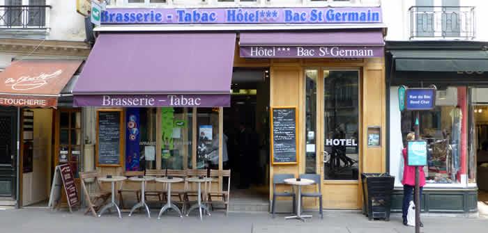 Rue du Bac, van Seine tot luxe Warenhuis