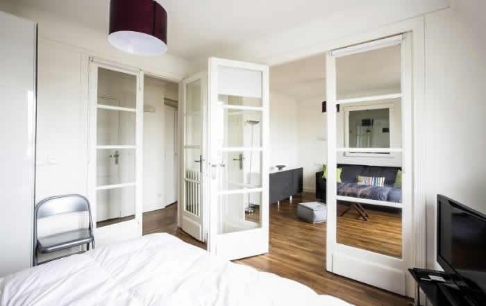 Slapen in een appartement in Parijs