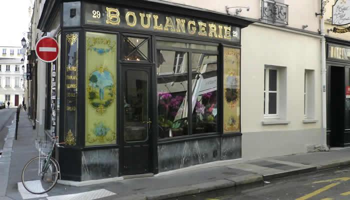 Bijzonder straatje in Le Marais