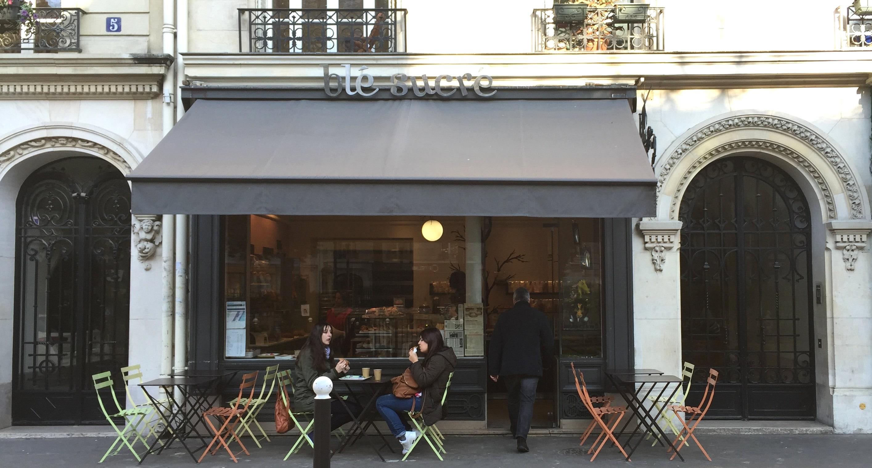 Ontbijt bij de Bastille