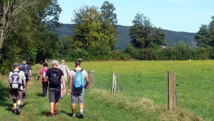 Wandelen met een gids in de Franse Ardennen