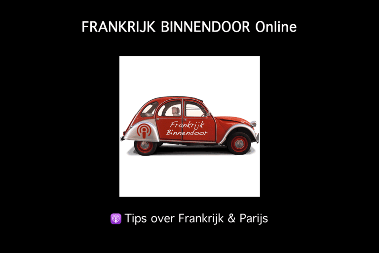 Podcasts over Frankrijk en Parijs