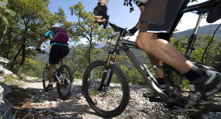 Mointainbiken bij de Gorges du Verdon