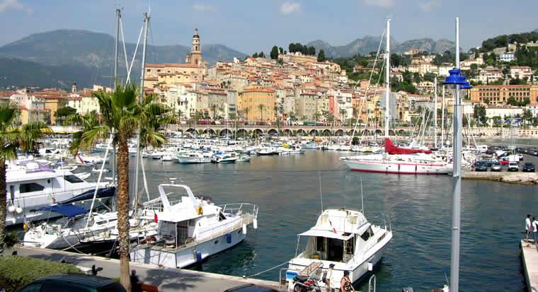 bezoek Menton aan de Côte-d'Azur