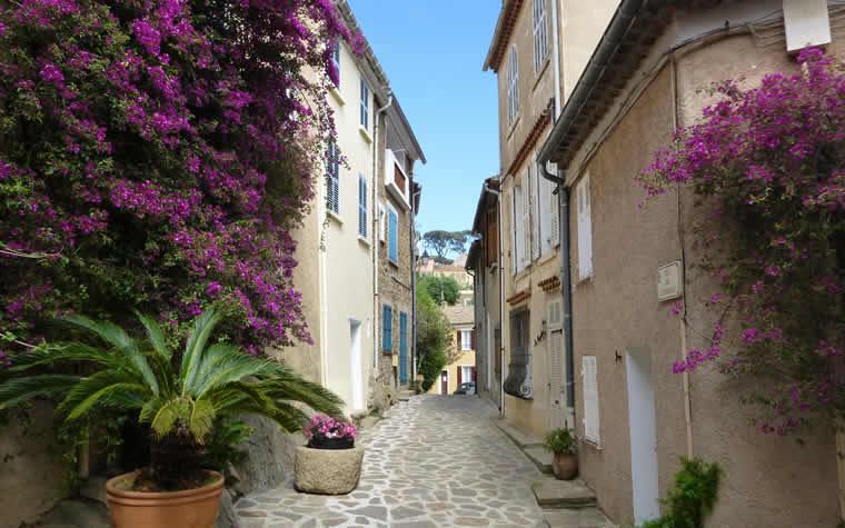 Bormes-Les-Mimosas en Le Lavandou
